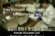Kanser hücresi ve alkali iyonize su